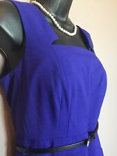 CALVIN KLEIN NWT New Purple Dress Size 14 Lg Retail $134 FREE PRIORITY SHIPPING!