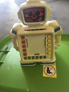 Vintage Rare Original 80's Playskool Alphie II Robot ...