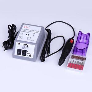 Elektrisch-Nagel-BohrerPoliermaschine-Mahlen-Maschine-Pedikuere-Nail-Art-Tools