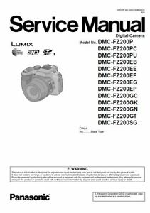 panasonic lumix dmc fz200 service manual and repair guide ebay rh ebay com GE Washer Repair Guide GE Washer Repair Guide