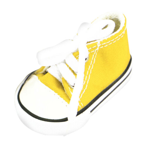 Doll Clothes Accessory-Lace Up Canvas Sneakers Shoes for 18/'/' American Doll Doll