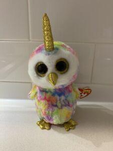 "Enchanted Owl 6"" 15cm Ty Beanie Boos"