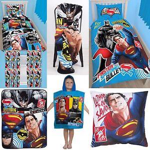 Batman-vs-Superman-chambre-accessoires-choisissez-un-ou-plus-Garcons-Enfants