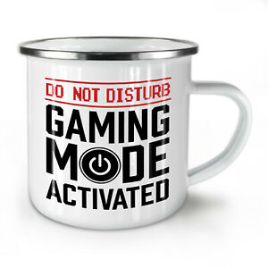 Gaming Mode On NEW Enamel Tea Mug 10 oz | Wellcoda