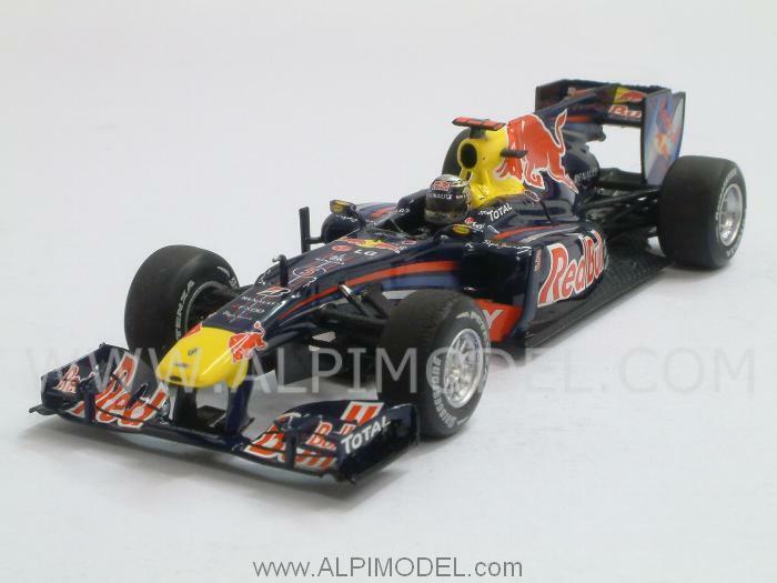 Red Bull RB6 Winner GP Brasil 2010 Sebastian Vettel 1:43 MINICHAMPS 410100205