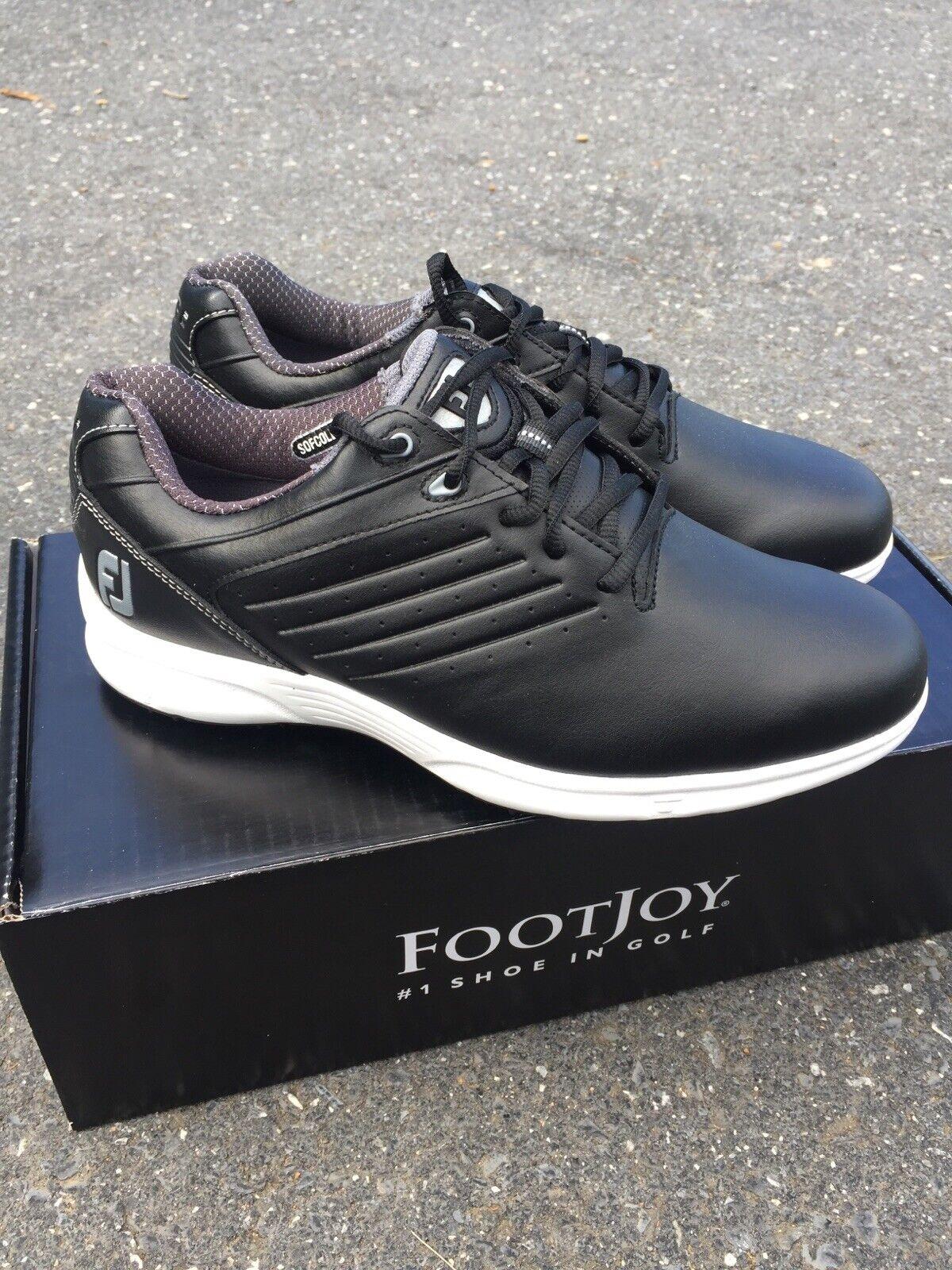 Footjoy Mens Size 8m Black Arc Sl Spikeless Golf Shoes Model 59702 For Sale Online Ebay