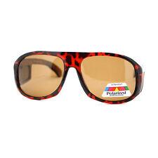 Polarized Lens OTG Sunglasses Mens Fit Over Prescription Glasses Tortoise