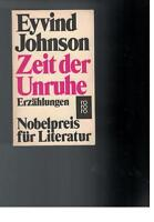 Eyvind Johnson - Zeit der Unruhe - 1974