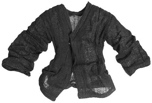 """1//6 Sideshow Star Wars Jedi Anakin Skywalker Black tunic Shirt for 12/"""" Figure"""