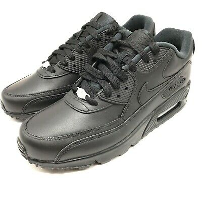 bd454c3eb949d Nike Air Max 90 Leather Mens Style 302519 Color 001 9