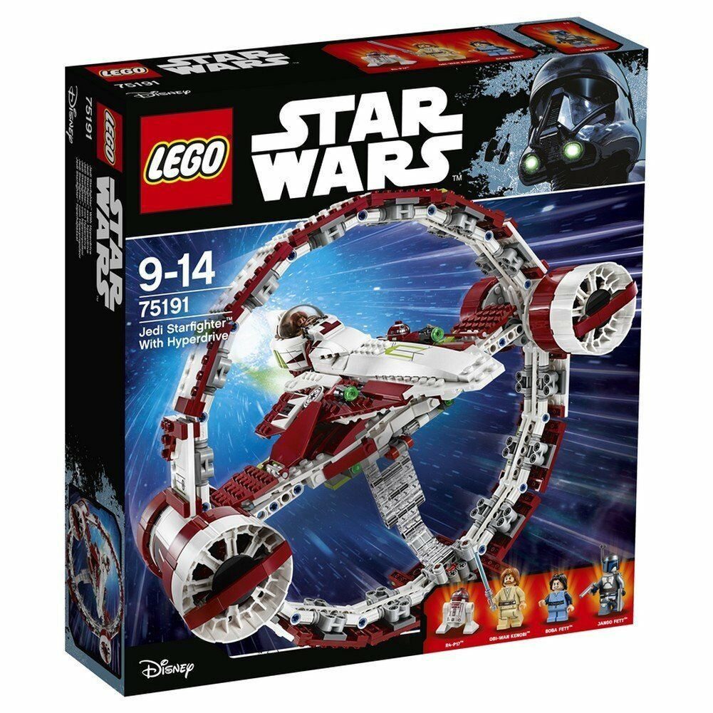 Lego Star Wars 75191 75191 75191 Jedi Starfighter con Hiperimpulsor - New and Sealed 03be2f