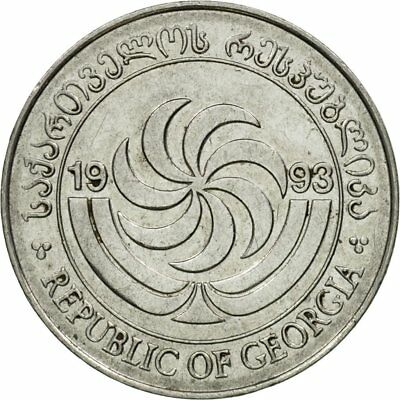 1993 Ef 5 Thetri Km:78 With Traditional Methods Coin #439122 Georgia Stainless Steel 40-45