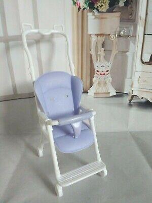 BARBIE DOLL BABY PURPLE PLASTIC STROLLER   eBay