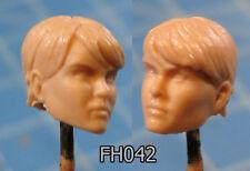 "FH042 Custom Cast Sculpt part Female head cast for use with 3.75"" action figures"
