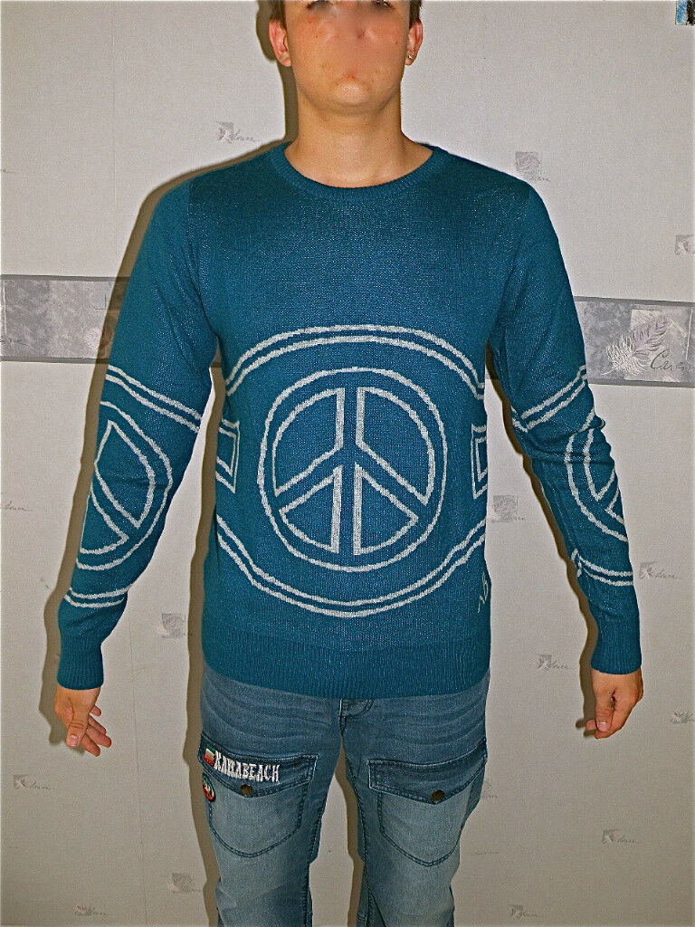 Sweater angora turquoise KANABEACH faraway T L VALUE NEW LABEL