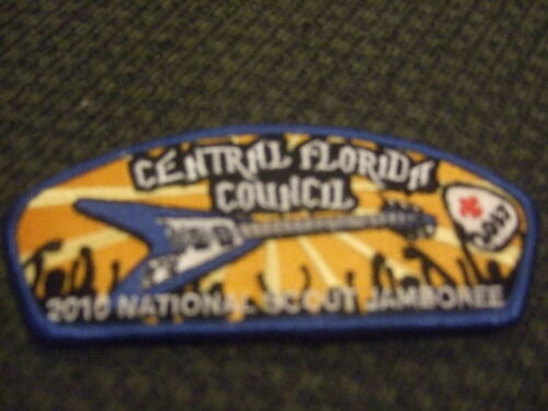 MINT 2010 JSP Central Florida Council Blue 2037
