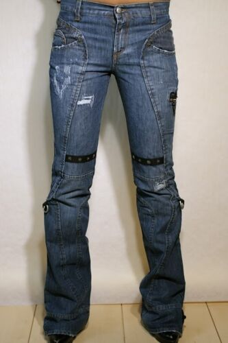 Costume National Damen Hose Jeans CNC Bootcut Neu 27 28 29 30 31