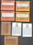 miniature 2 - 4- 1987-1991 Mark McGwire Error Cards & 4 Mark McGwire Oakland  A' s Cards