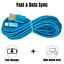 miniature 5 - 3Pack 10Ft USB Fast Charger Cable For Apple iPhone 12 11 8 7 6 XR Charging Cord