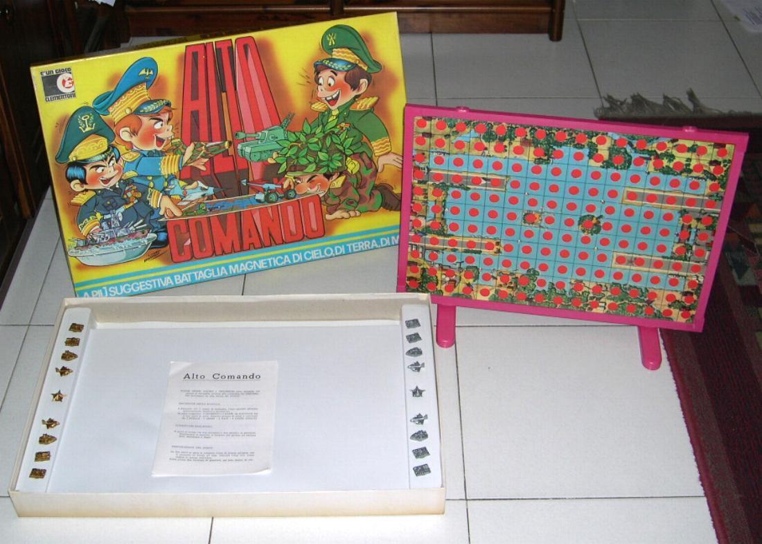 ALTO COuomoDO – Ed Clementoni  1971 Completo Battaglia navale PERFETTO  shopping online e negozio di moda