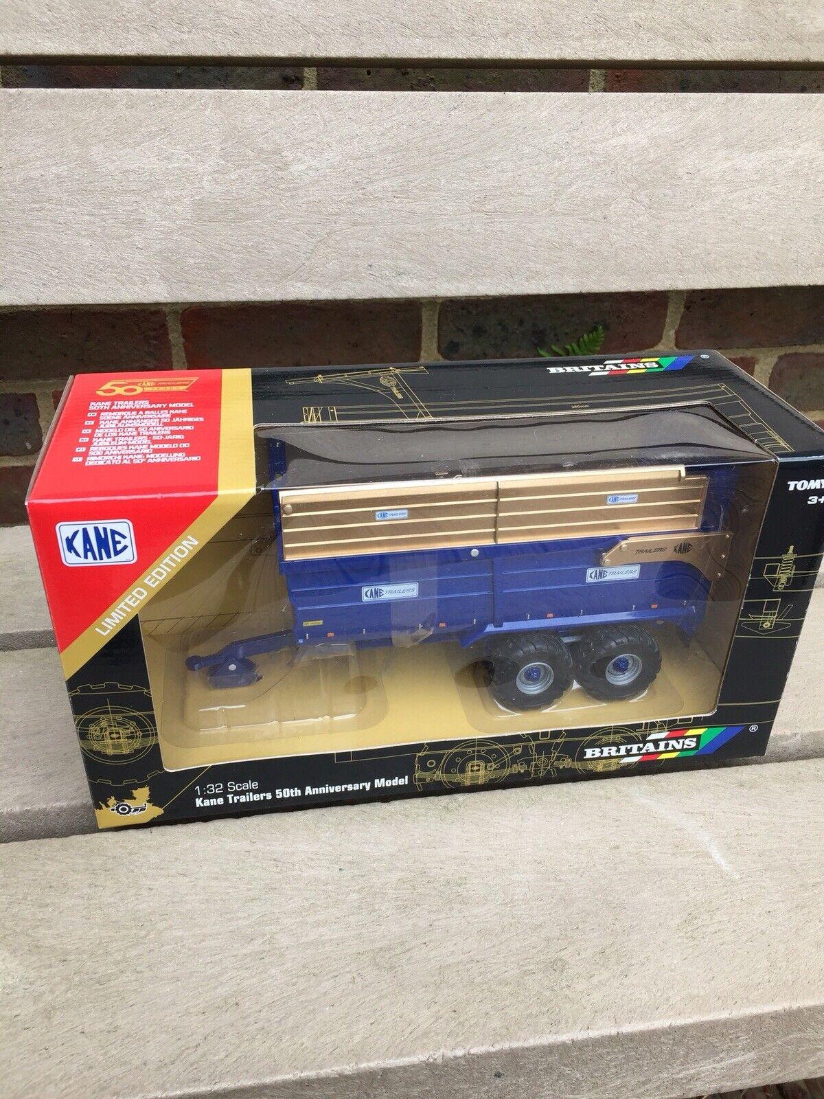 barato 43219 remolque de ensilado de de de Britains oro Kane 1 32 Escala Modelo 50th aniversario  A la venta con descuento del 70%.