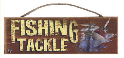 Hunt Fish Fish Hunt Rustic Wall Sign Plaque Gifts Men Fishing Fishermen Outdoors