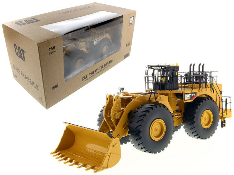 CAT CATERPILLAR 994F WHEEL LOADER WITH OPERATOR 1 50 BY DIECAST MASTER 85161