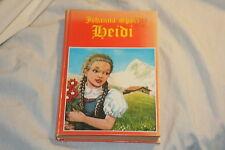 Heidi by Johanna Spyri 1982 Hardcover