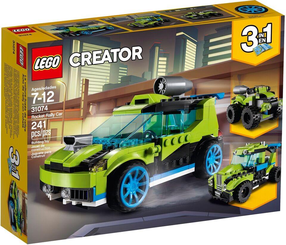 Lego Creator, Lego Creator 3in1 Rocket Rally Car 31074