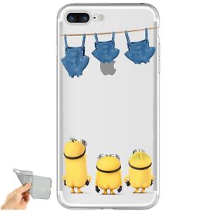 Détails sur Coque iPhone 6 / 6s en SILICONE Les Minions Moi Moche et Mechant Despicable Me