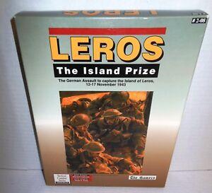 Boxed-BOARD-WAR-GAME-Leros-Island-Prize-German-Assault-12-17-Nov-43-Gamers