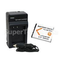 Battery + Charger Combo Kit For Sony Np-bn1 Cyber Shot Dsc-w510 W530 W560 W570