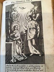 The-Salutation-Religious-Print-From-1713-Luke-1