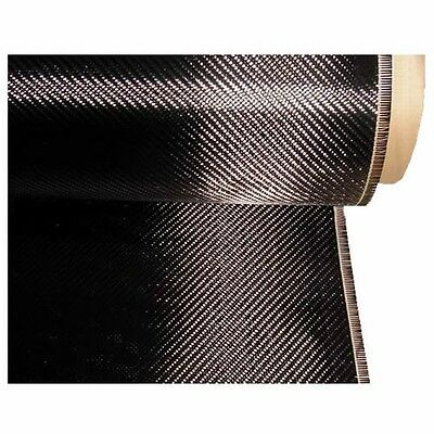 Carbon Fibre Cloth (Twill Weave) 1m x 500mm (200gm)
