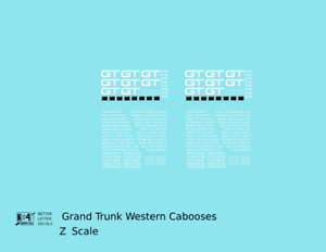 K4-Z-Decals-Grand-Trunk-Western-Caboose-White