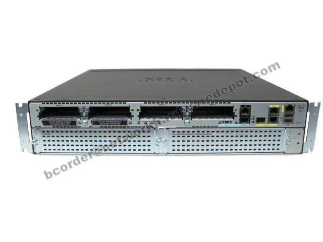 Cisco 2921-V Voice Bundle Routeur UC LICENSE CISCO 2921-V/K9 - Missing plastron