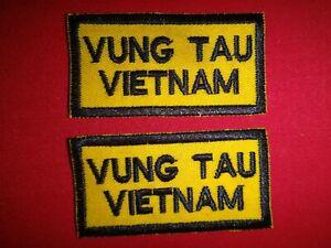 Lote-de-2-Guerra-Vietnam-034-Vung-Tau-Vietnam-034-Hombreras-Parches