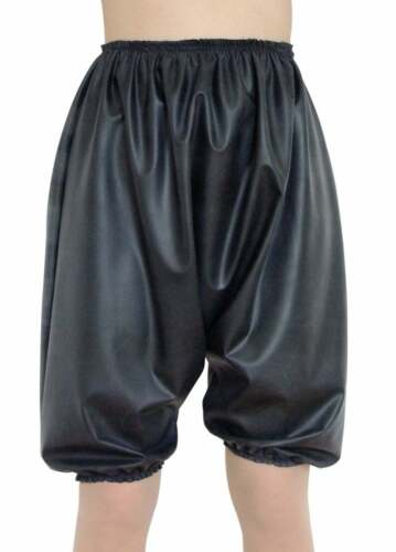 Latex Silicone Bloomers Knickers Rubber Black Sissy Pants Roleplay XL XXL Dreamy