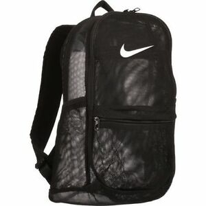 Image Is Loading NWT Nike Brasilia 7 Mesh Net Backpack Black