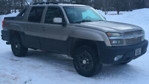 2003 fully loaded avalanche