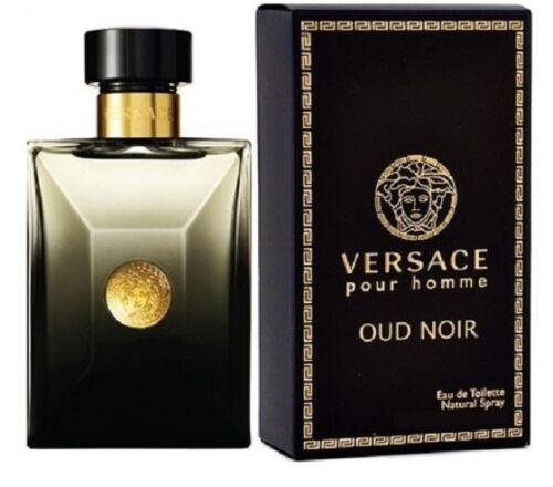 Versace Pour Homme Oud Noir Eau de Toilette 3.4 oz by VERSACE FOR MEN NIB