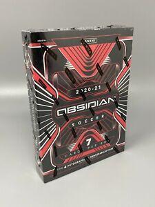 2020-21 Panini Obsidian Soccer Hobby Box Factory Sealed 4 autos/mem IN STOCK!