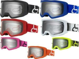 Fox Racing Main II Goggles Motocross MX ATV UTV Offroad Antifog Adult...