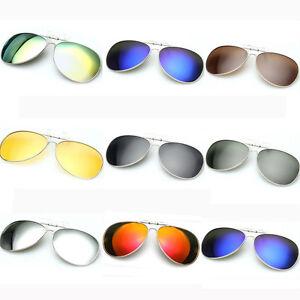 polarisiert sonnenbrillenaufsatz clip on sonnenbrillen uv. Black Bedroom Furniture Sets. Home Design Ideas