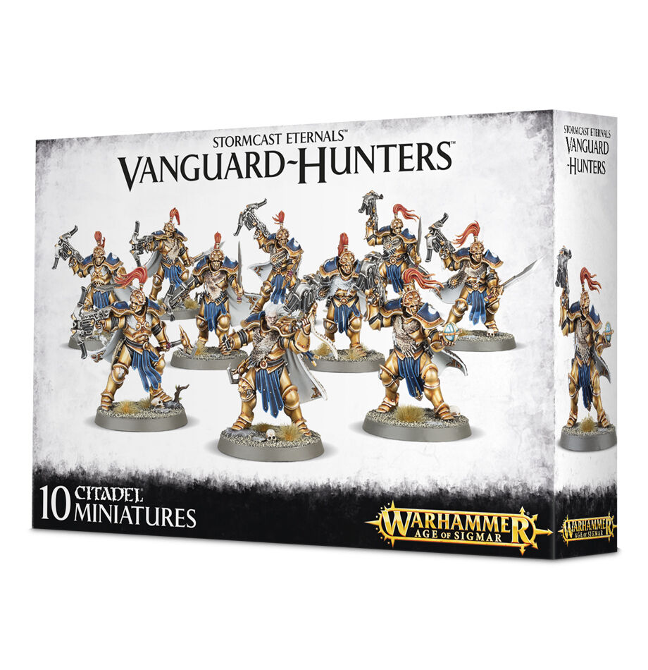 Stormcast Eternals: Vanguard-Hunters 10 miniatures from Games Workshop