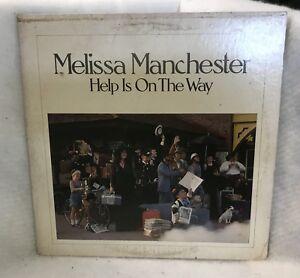 Vintage-Melissa-Manchester-Help-Is-In-The-Way-Vinyl-LP
