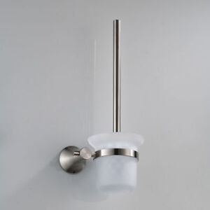Image Is Loading EUB Bathroom Accessories Wall Mounted Toilet Brush Holder