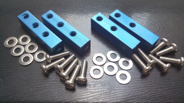 vintage alloy steering servo mount set for tamiya TXT-1 , TXT-2
