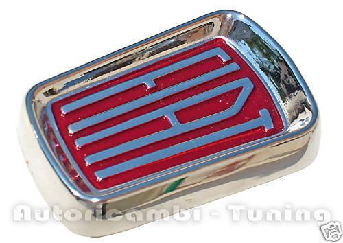 FREGIO STEMMA ANTERIORE FIAT 500L  PLASTICA CROMATA  C0600