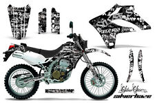 KAWASAKI KLX 250 Graphic Kit AMR Racing Decal Sticker Part KLX250 04-07 S.HAZE W